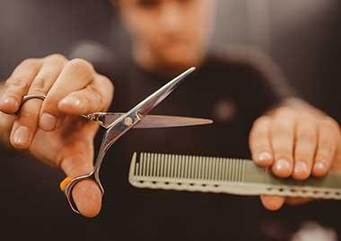 Friseur und Stylisten