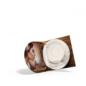 Pocket-Geschenkgutschein Kaffeegenuss