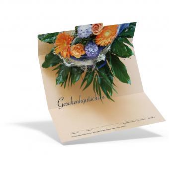 Geschenkgutschein Blumenstrauß