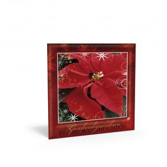 Weihnachtsgutschein inkl. Transparentkuvert
