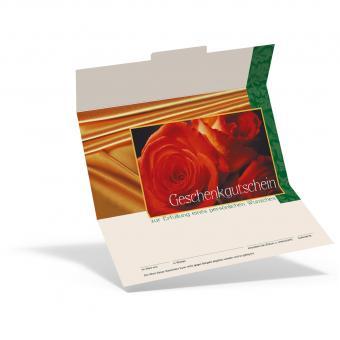 Geschenkgutschein Rosen