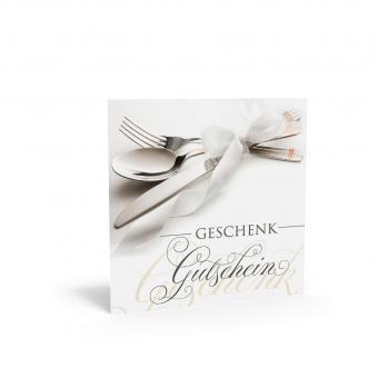 Geschenkgutschein Quadra-Besteck
