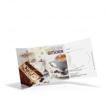 Piccolo-Gutschein Kaffee & Torten
