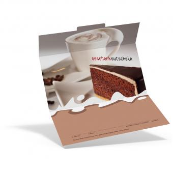 Geschenkgutschein Cappuccino