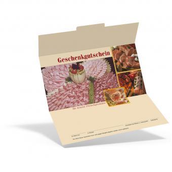 Geschenkgutschein Fleisch & Wurst