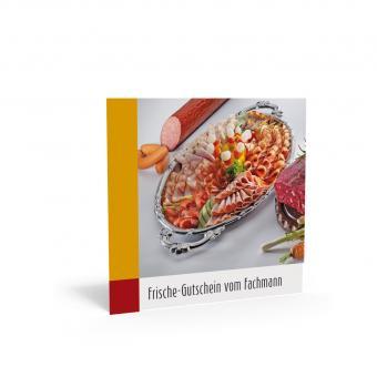 Geschenkgutschein Quadra-Fleisch-Wurst inkl. Trans