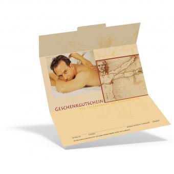 Geschenkgutschein Männer-Massage