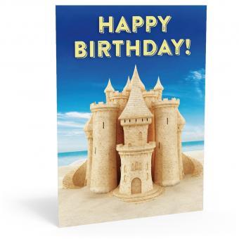 Geburtstags-Postkarte