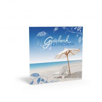 Geschenkgutschein Quadra-Am Strand