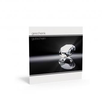 Geschenkgutschein Quadra-Diamant inkl. Transparent