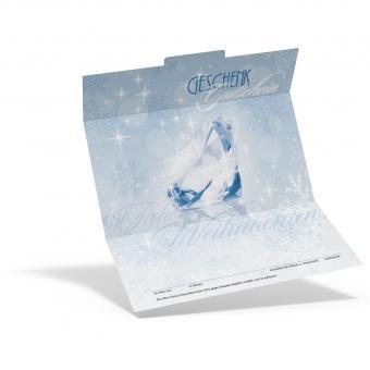 Geschenkgutschein Eiskristall