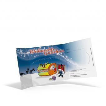 Weihnachts-Piccolo-Gutschein Santa's Sun