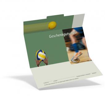 Gutschein Ballsport