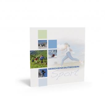 Geschenkgutschein Quadra-Multisport inkl. Transpar