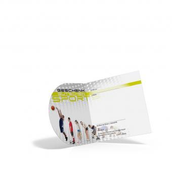 Pocket-Geschenkgutschein Sport Evolution