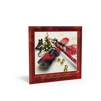 Weihnachtsgutschein X-mas Winterfreuden inkl. Tran