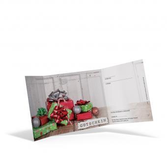 Piccolo-Weihnachtsgutschein