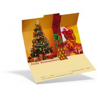Weihnachtsgutschein Pakete
