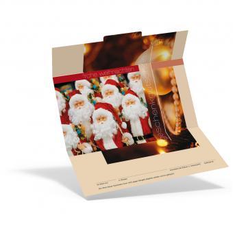 Weihnachtsgutschein Santa Claus