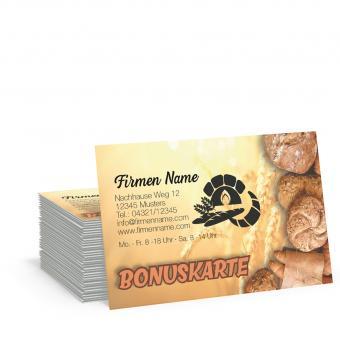 Bonuskarte Bäcker