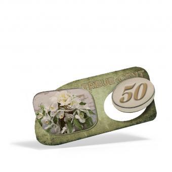 Treuebon zum Ausbrechen 50 Cent