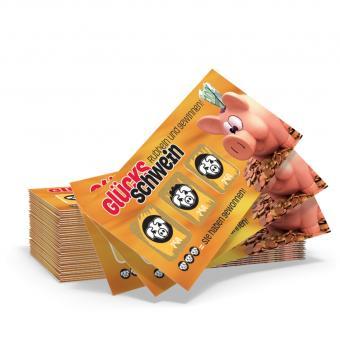 Glücksschwein-Rubbler
