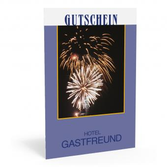 """Gutscheinkarte """"Welcome Drink"""""""