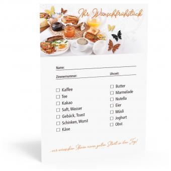 Frühstückszettel - DIN A6