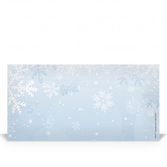 """DIN lang Kuvert """"Eiskristall"""""""