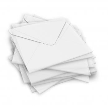 """Kuvert quadratisch """"transparent"""" für Geschenkgutschein"""