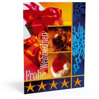 """Weihnachtskarte """"Eisblume"""""""
