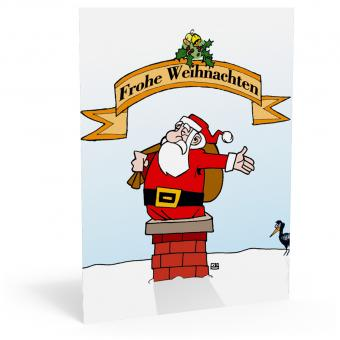"""Weihnachtskarte """"Santa-Claus"""""""