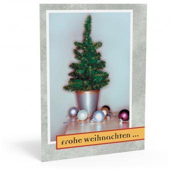 """Weihnachtskarte """"X-mas"""""""