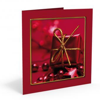 Weihnachts-Doppelkarte Paket inkl. Kuvert