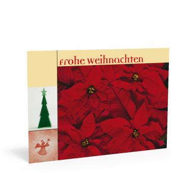 """Weihnachtskarte """"Weihnachtsstern"""""""