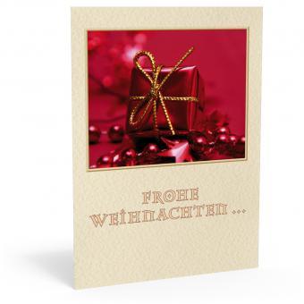 """Weihnachtskarte """"Red Christmas"""""""