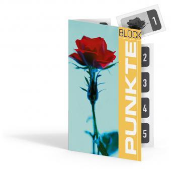 """Punkteblock """"Rose"""""""