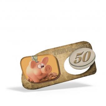 Treuebon zum Ausbrechen - 50 Cent
