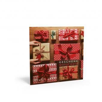 Geschenkgutschein Weihnachten inkl. Kuvert