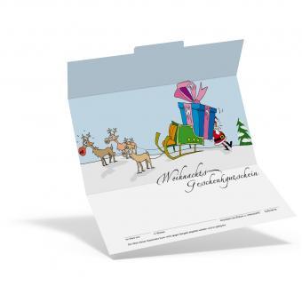 """Geschenkgutschein Weihnachten """"Rudolph"""""""