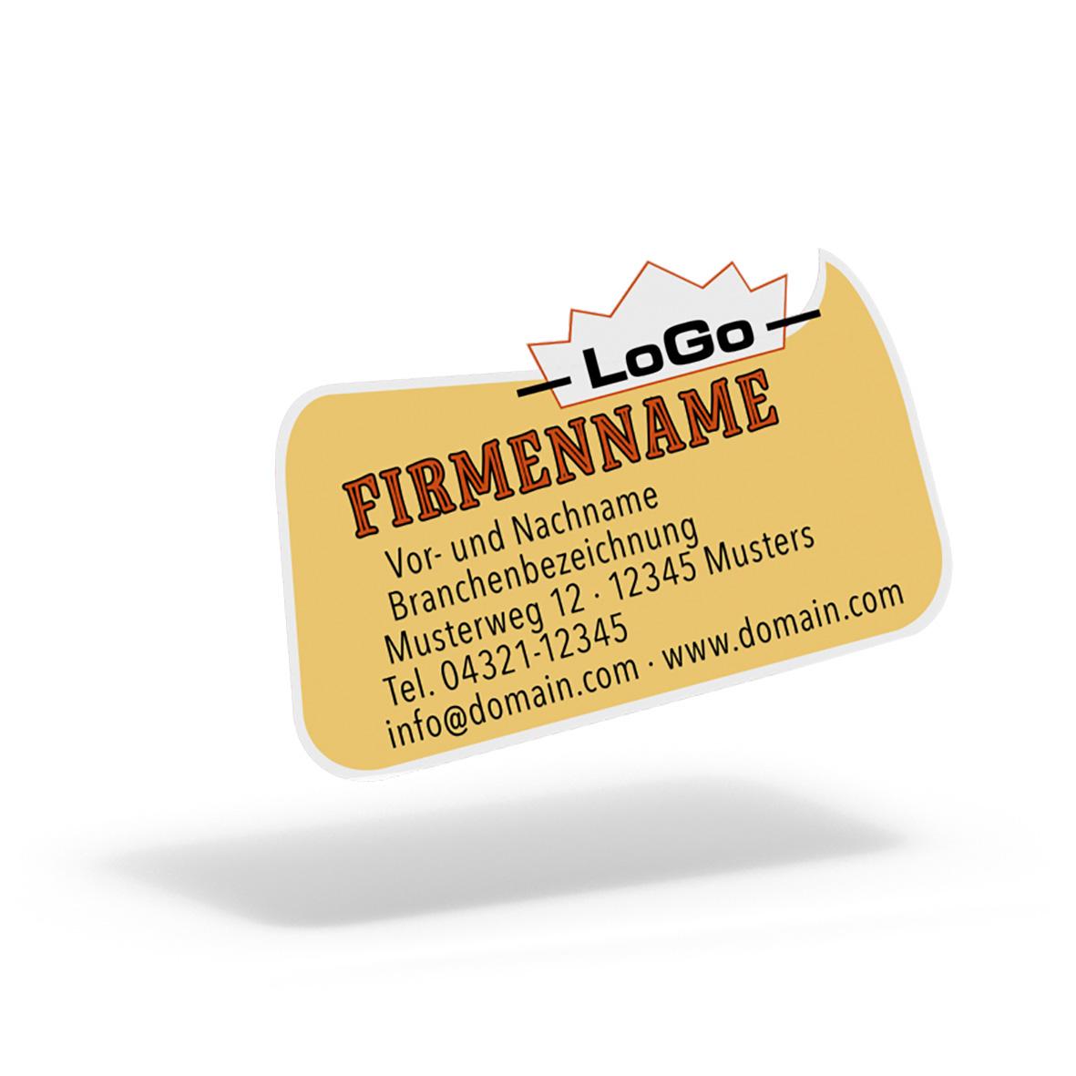 Pythagoras Marketing Gmbh Folien Aufkleber Etiketten Rechteckige Blase Geschenkgutscheine Visitenkarten Kundenkarten Und Weitere Treuesysteme