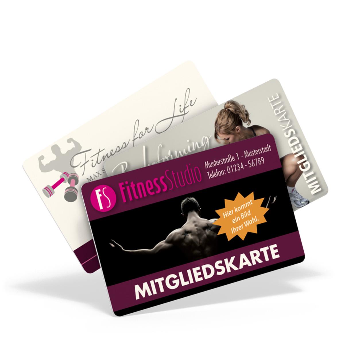 Pythagoras Marketing Gmbh Pvc Mitgliedskarte Rückseite Schwarzer Aufdruck Geschenkgutscheine Visitenkarten Kundenkarten Und Weitere