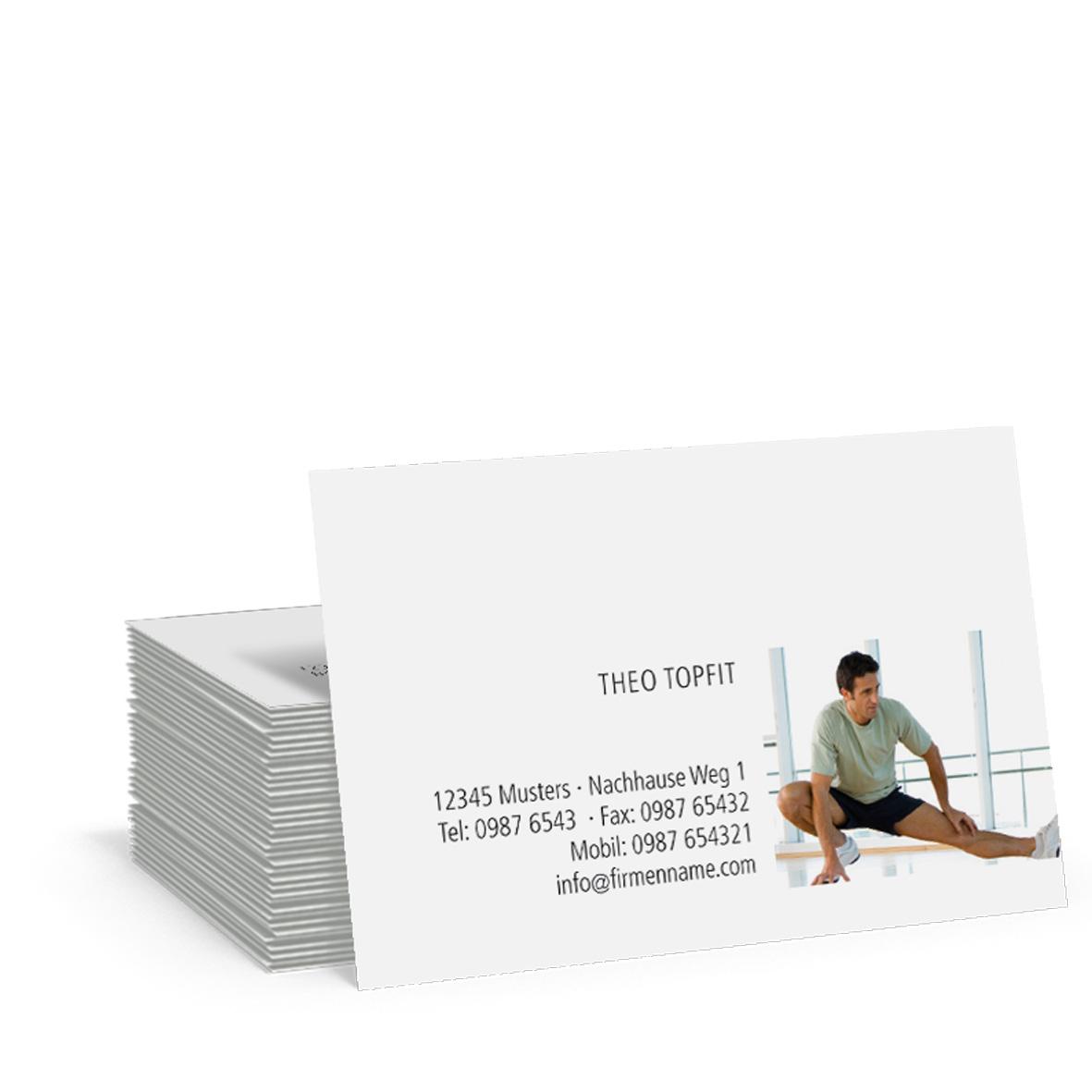 Pythagoras Marketing Gmbh Visitenkarte Gym Geschenkgutscheine Visitenkarten Kundenkarten Und Weitere Treuesysteme