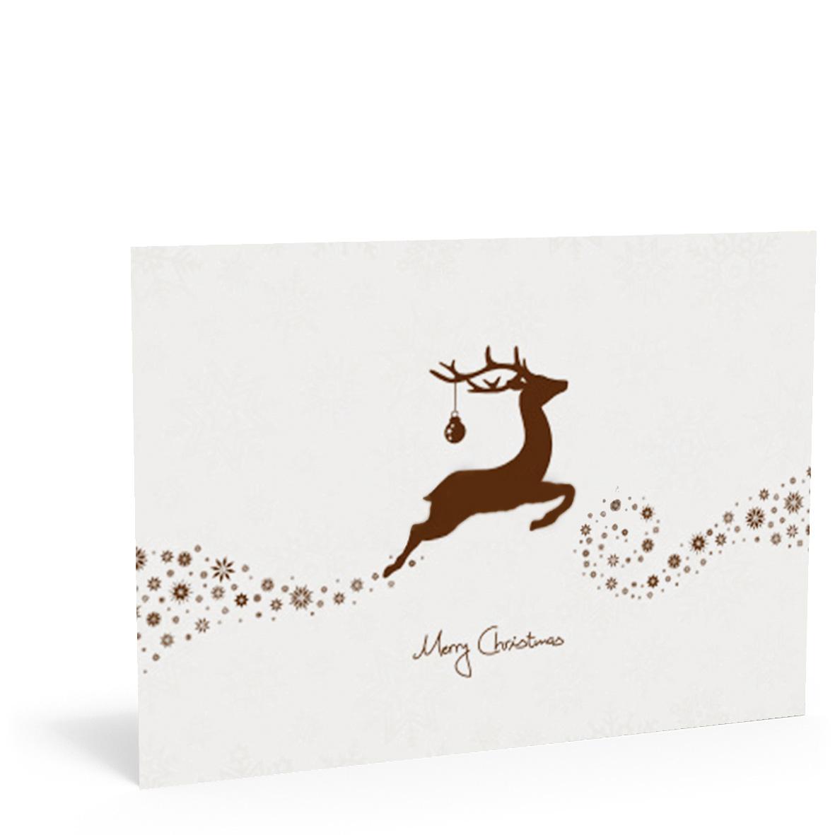 pythagoras marketing gmbh weihnachtskarte hirsch. Black Bedroom Furniture Sets. Home Design Ideas